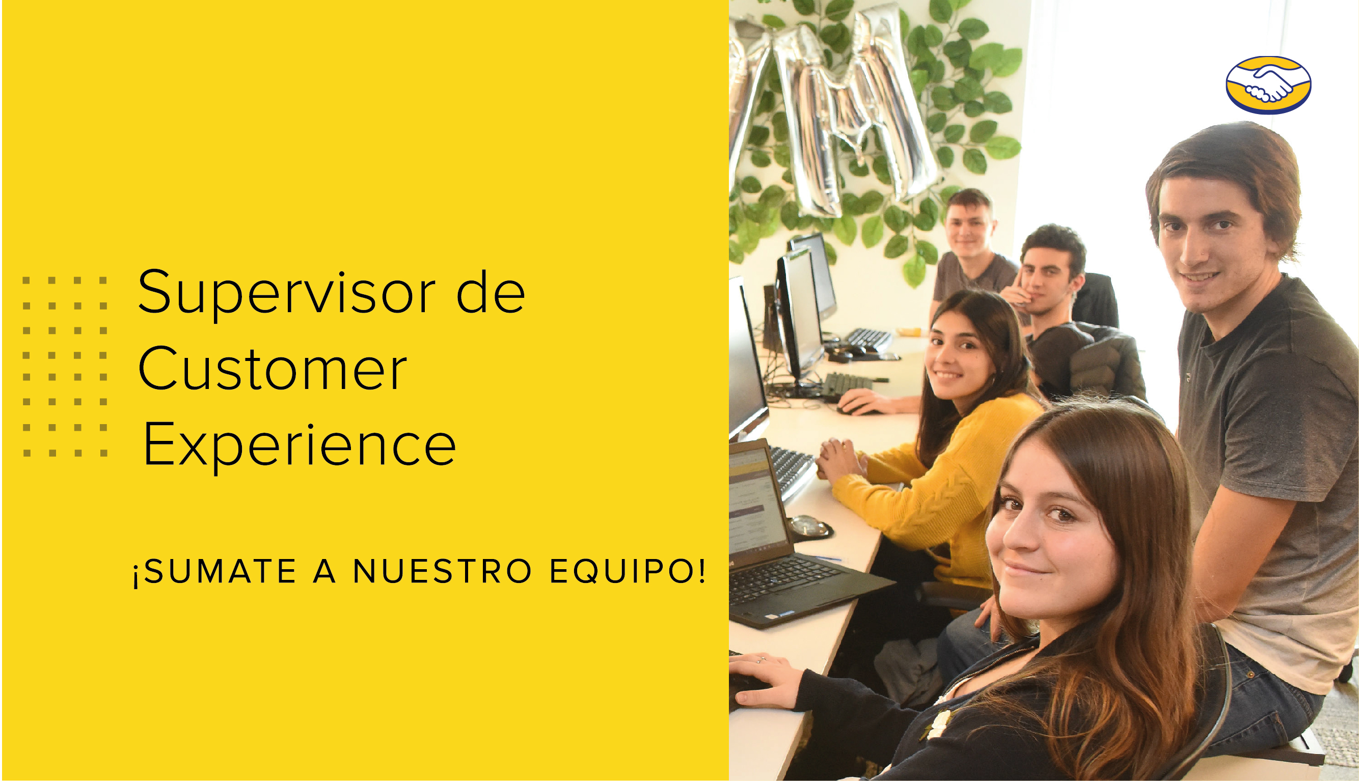 Supervisor de Customer Experience en Mercado Libre